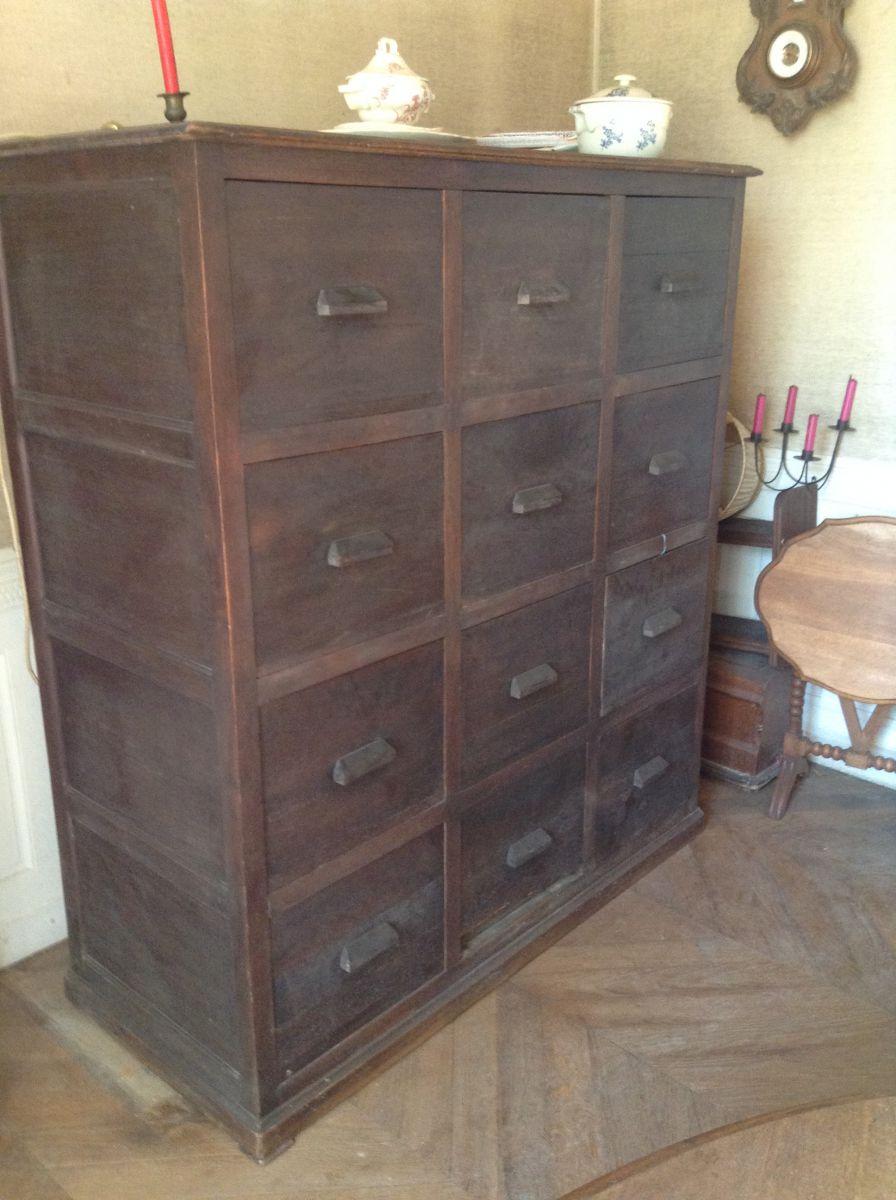 grand meuble 12 tiroirs luckyfind