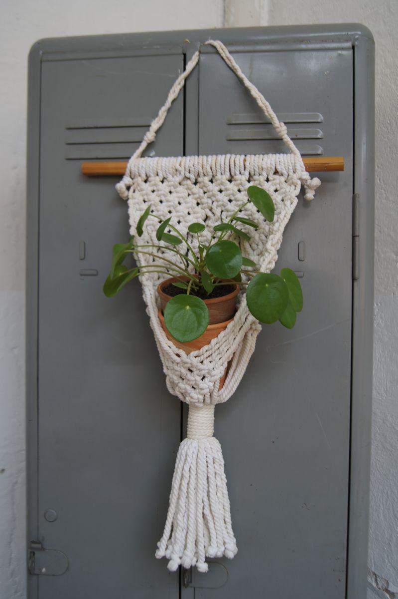 Porte plante macram luckyfind - Porte plante ...