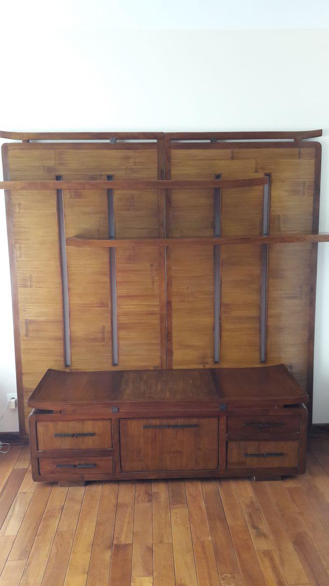 meuble tv style asiatique luckyfind. Black Bedroom Furniture Sets. Home Design Ideas