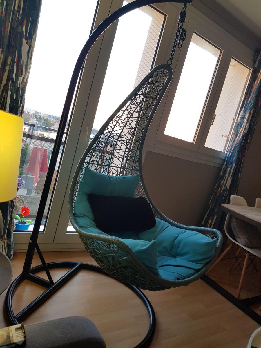 fauteuil oeuf balancelle luckyfind. Black Bedroom Furniture Sets. Home Design Ideas