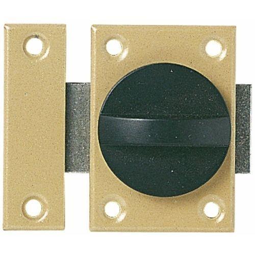verrou bouton tournant ressort vachette coffre acier verni luckyfind. Black Bedroom Furniture Sets. Home Design Ideas
