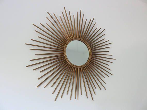 Grand miroir chaty vallauris sign des ann es 50 60 for Chaty vallauris miroir