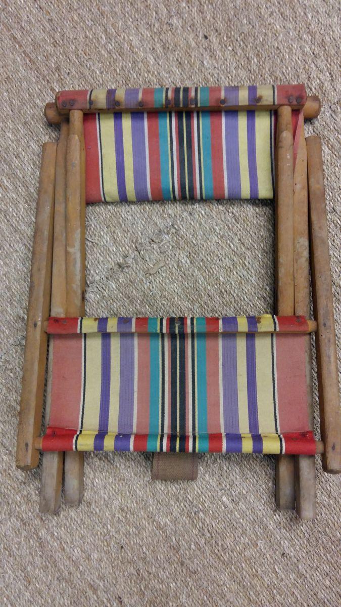 Chaise Pliante Vintage Luckyfind