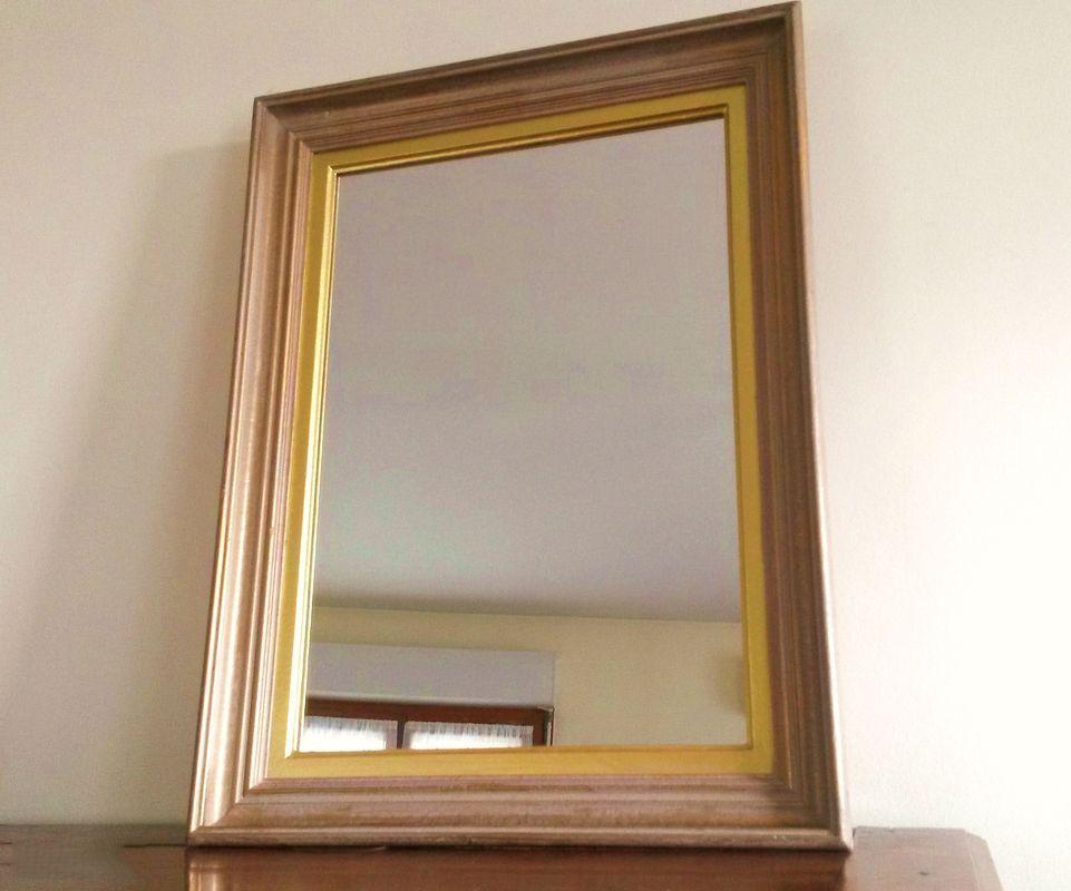 Miroir vintage ann es 50 luckyfind for Miroir largeur 50