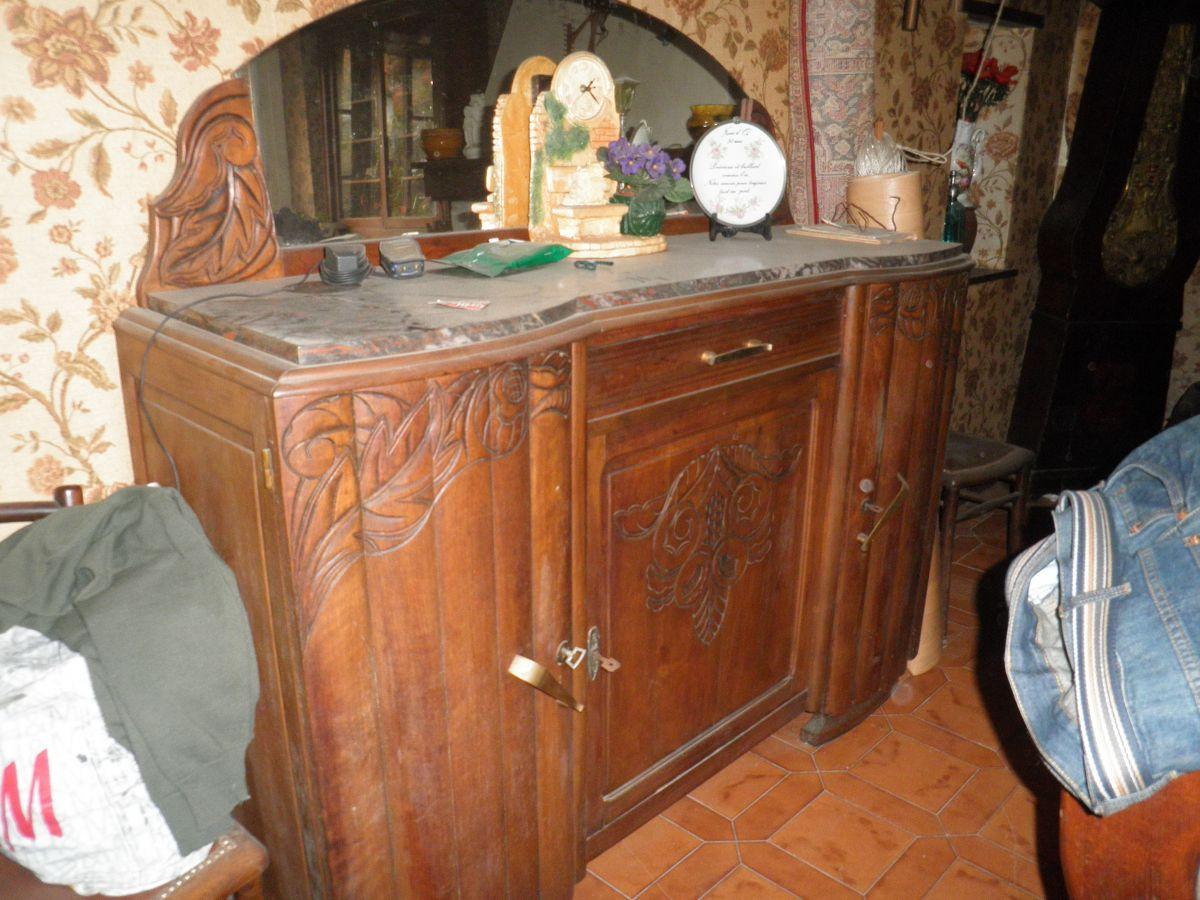 buffet bas 1950 luckyfind. Black Bedroom Furniture Sets. Home Design Ideas