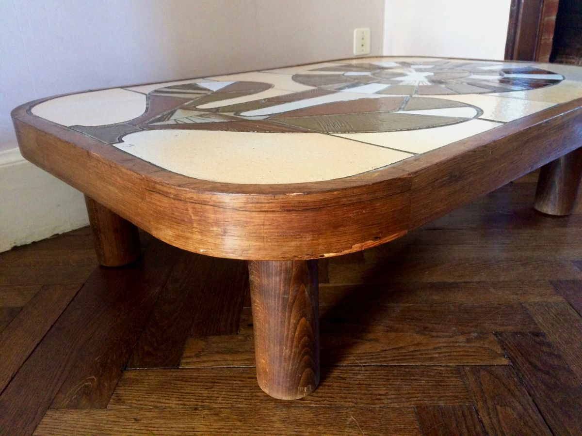 Table Basse Signee Capron Modele Shogun Luckyfind