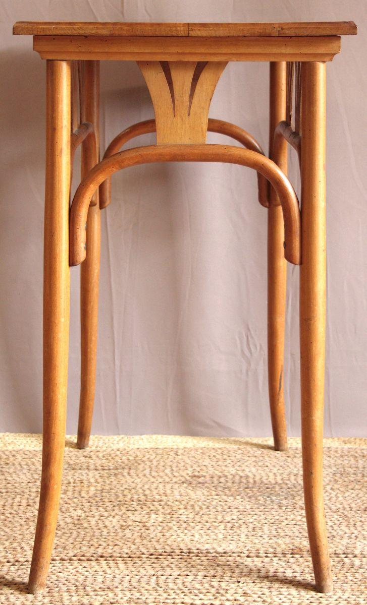 table d appoint bois courb luckyfind. Black Bedroom Furniture Sets. Home Design Ideas