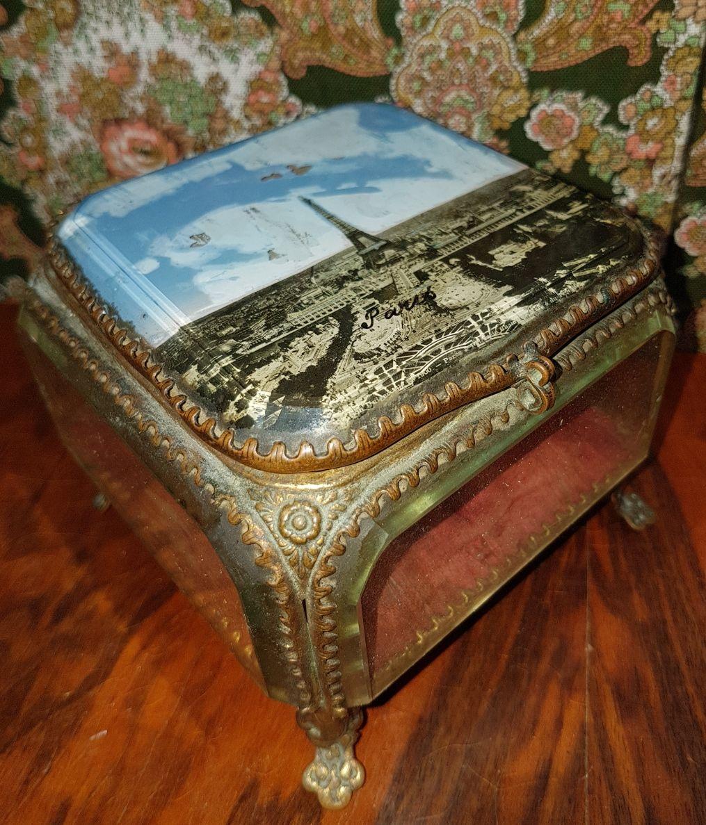 ancienne boite bijoux 19eme luckyfind. Black Bedroom Furniture Sets. Home Design Ideas