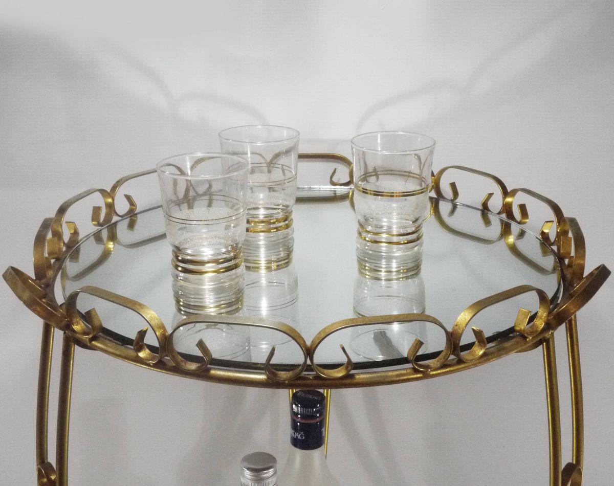 desserte metal dor luckyfind. Black Bedroom Furniture Sets. Home Design Ideas