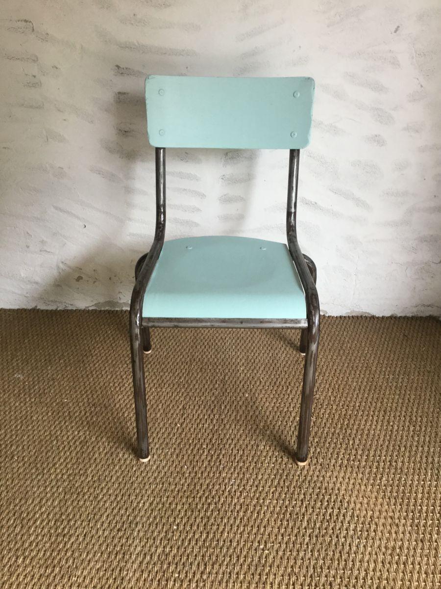 86 Chaise Ecolier Vintage