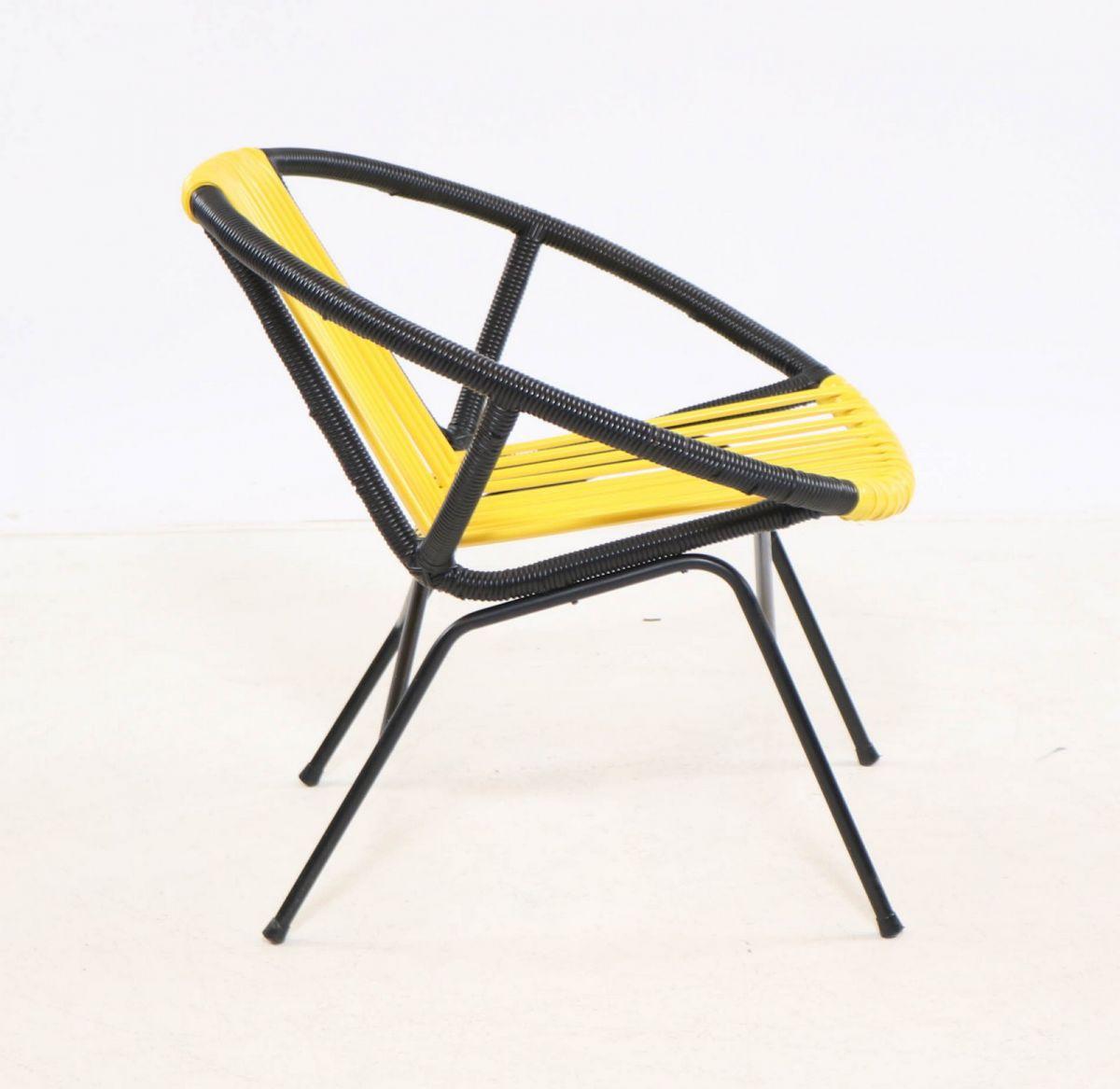chaise design jaune luckyfind. Black Bedroom Furniture Sets. Home Design Ideas