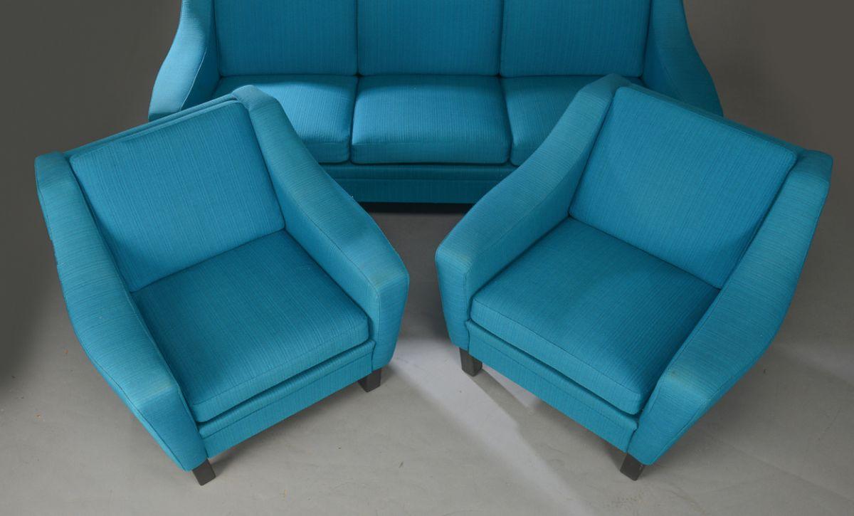 Canap et fauteuils turquoise luckyfind Canape et fauteuil
