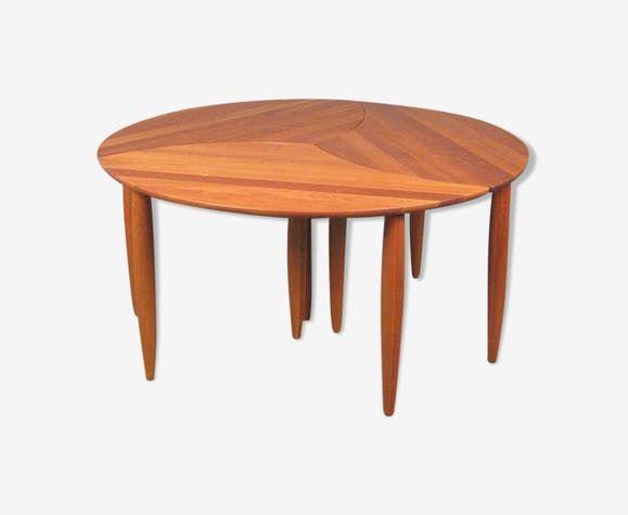 ensemble de tables basses modulable luckyfind. Black Bedroom Furniture Sets. Home Design Ideas