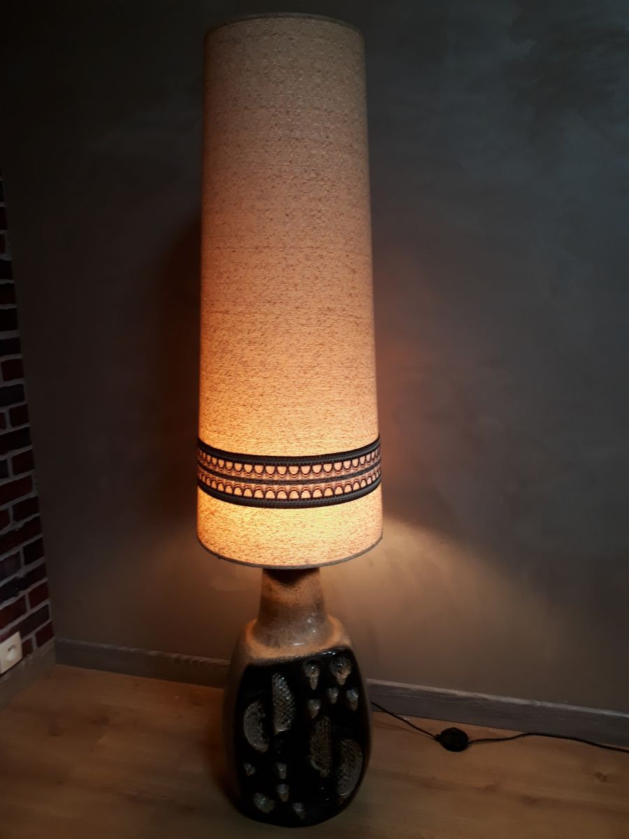 Lampe 1970 Poser Geante Accolay A TFc3l1JK