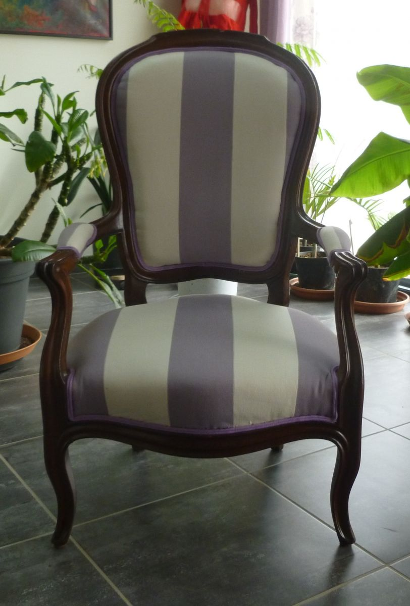 Salon louis philippe en acajou luckyfind for Salon louis philippe