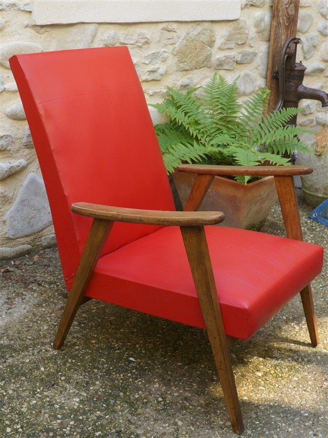 fauteuil compas ann es 50 luckyfind. Black Bedroom Furniture Sets. Home Design Ideas