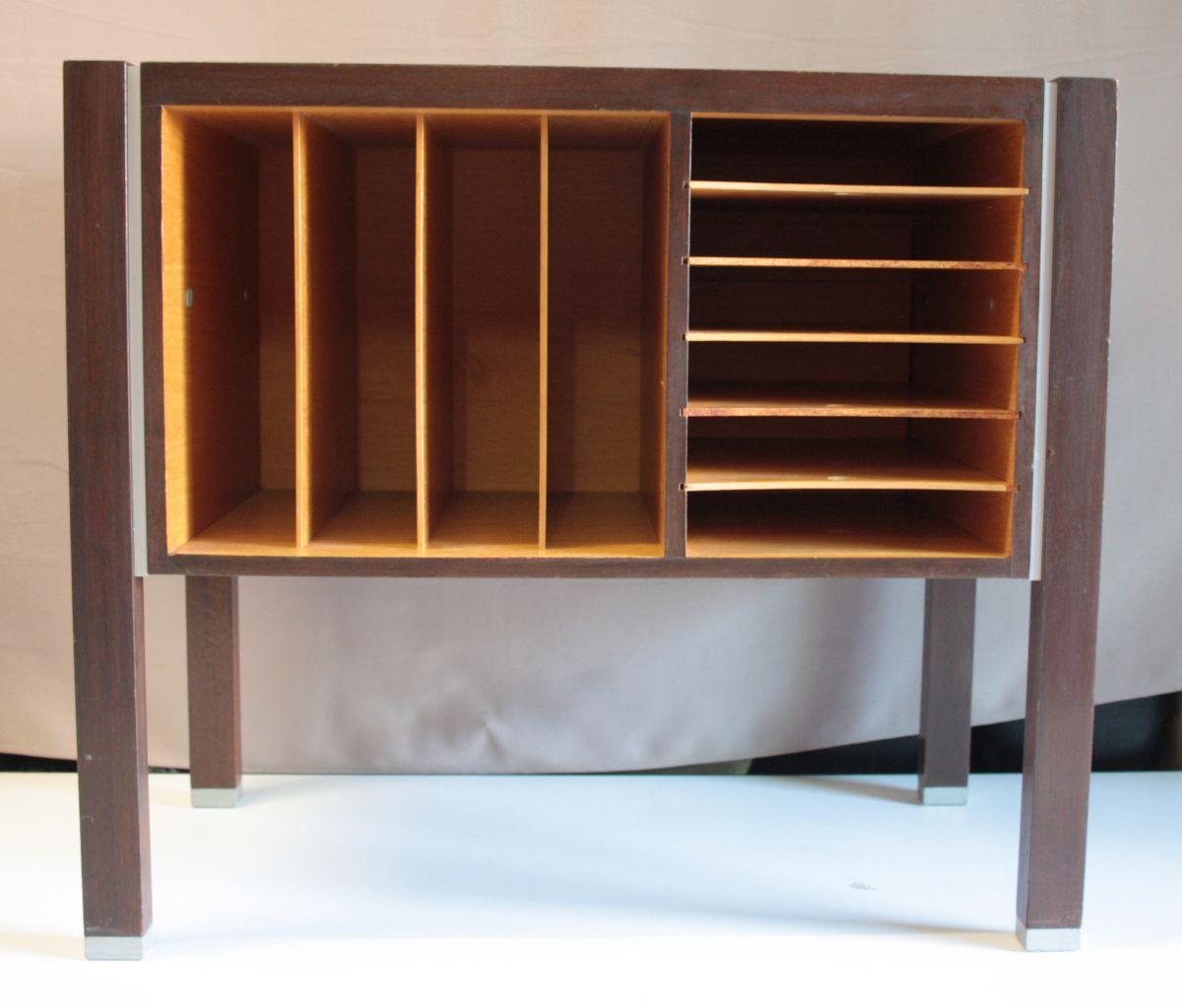 meuble classeur trieur ann es 70 design luckyfind. Black Bedroom Furniture Sets. Home Design Ideas