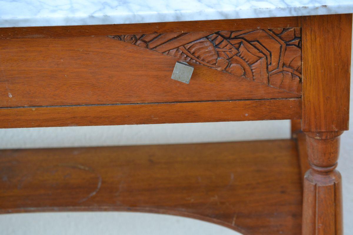 Relooker Une Table De Toilette En Marbre table de toilette ancienne art deco 1930 – luckyfind