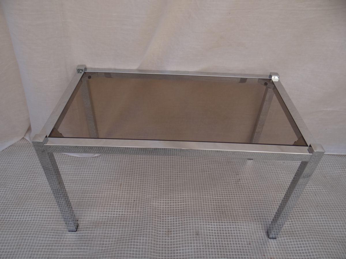 table basse ann es 70 vintage luckyfind. Black Bedroom Furniture Sets. Home Design Ideas