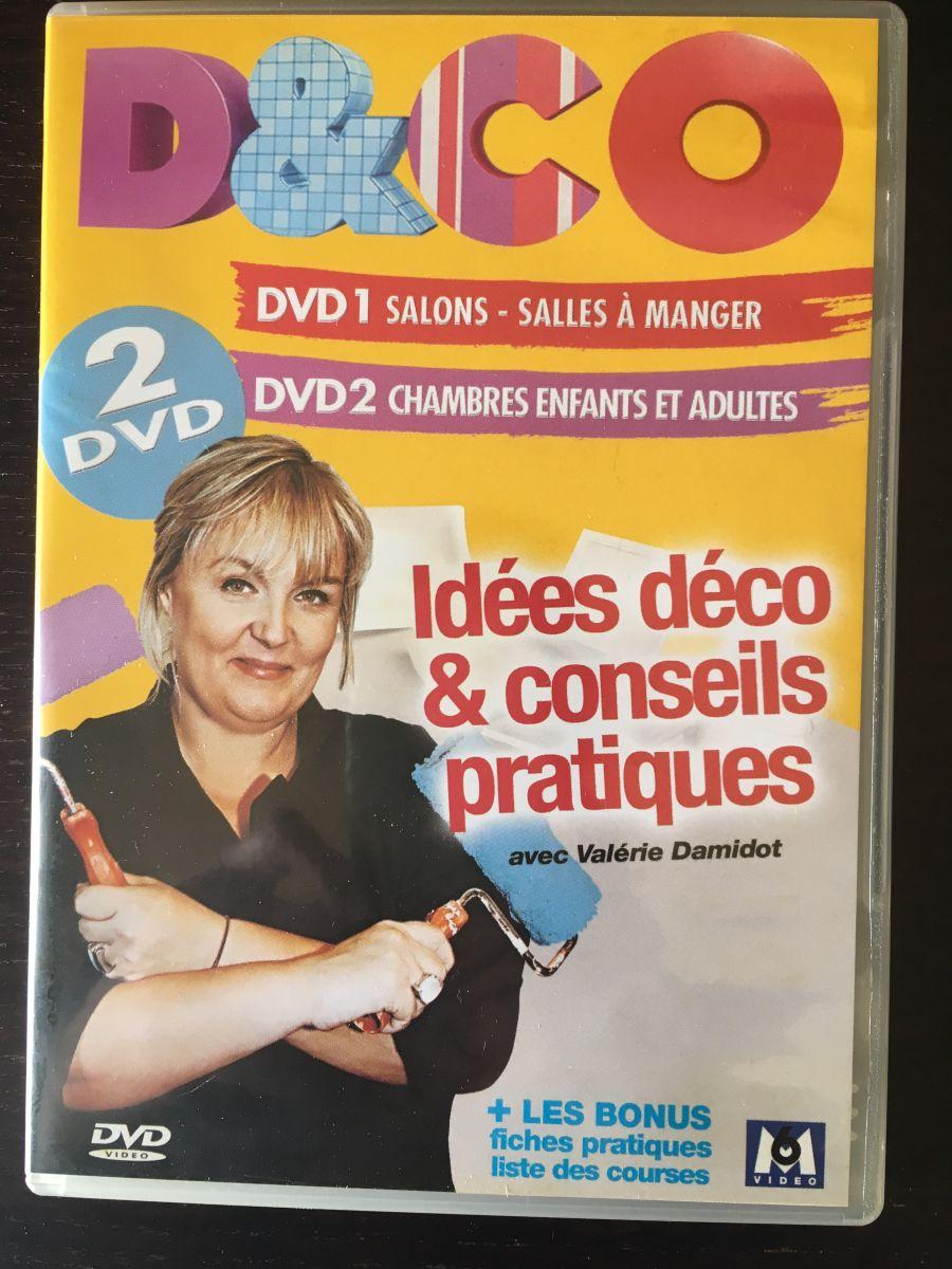 Coffret D&CO Valérie Damidot 2 DVD
