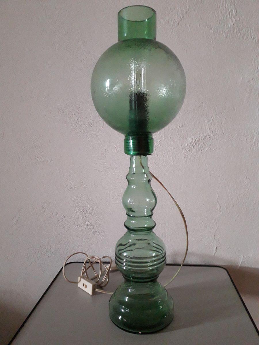 lampe de table verre luckyfind. Black Bedroom Furniture Sets. Home Design Ideas