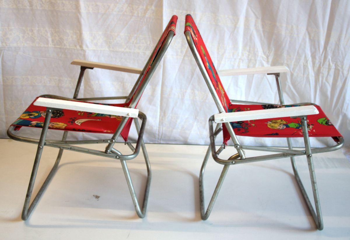 paire de fauteuils pliants enfant luckyfind. Black Bedroom Furniture Sets. Home Design Ideas