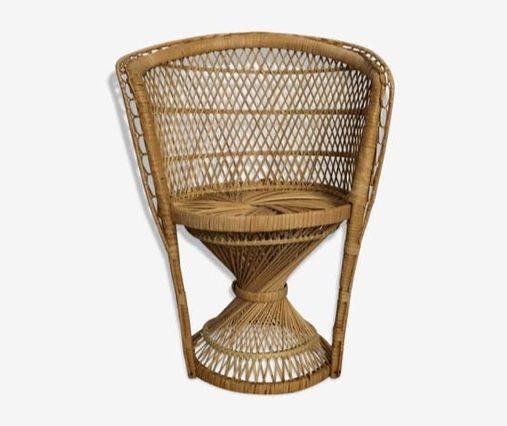 fauteuil en rotin pour enfant luckyfind. Black Bedroom Furniture Sets. Home Design Ideas