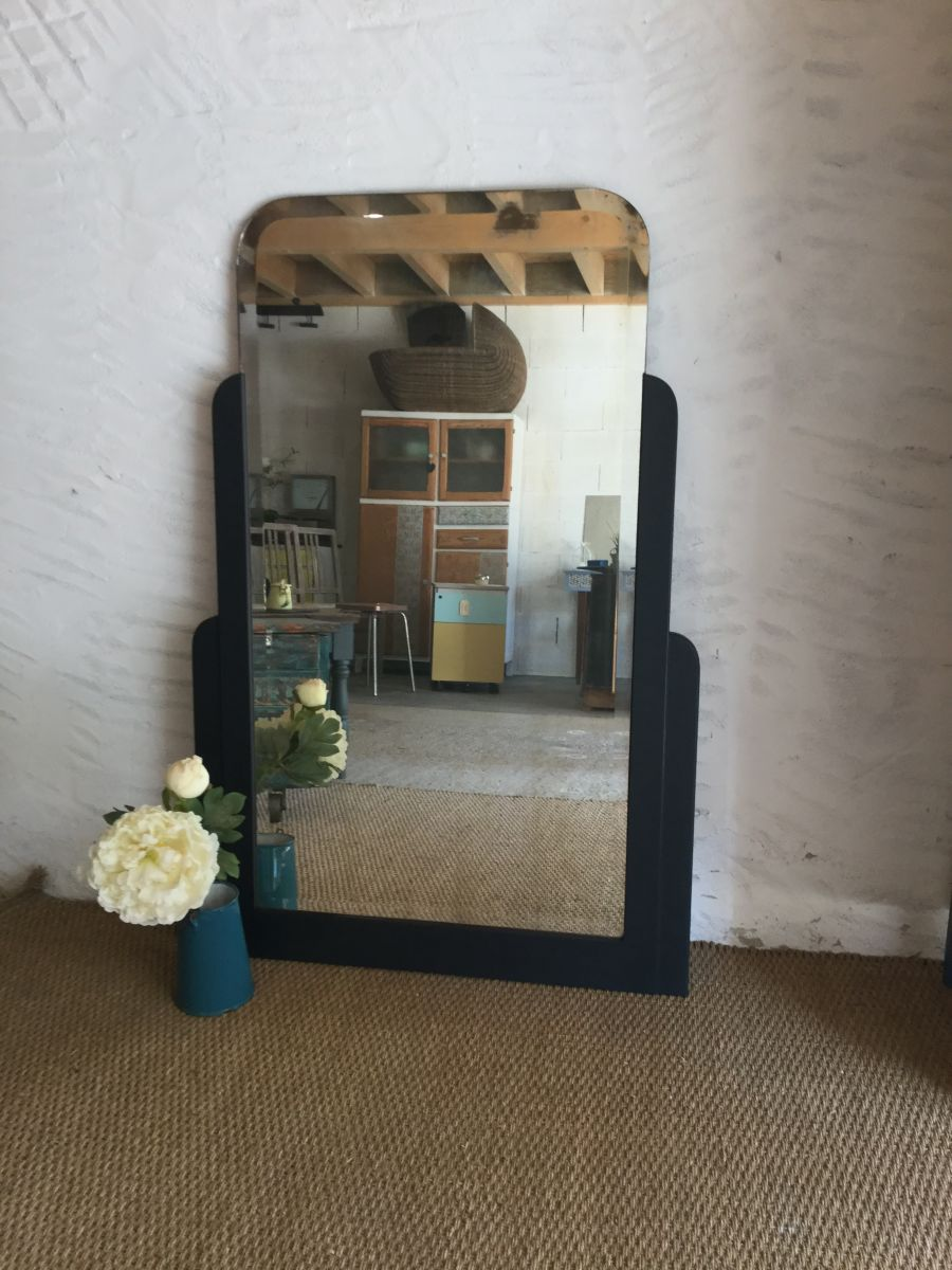 miroir ancien art d co luckyfind. Black Bedroom Furniture Sets. Home Design Ideas