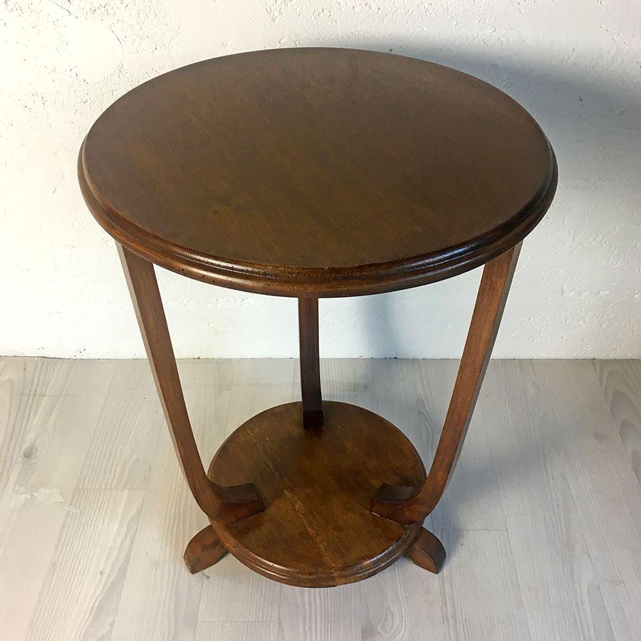 table d 39 appoint vintage 50 39 s luckyfind. Black Bedroom Furniture Sets. Home Design Ideas