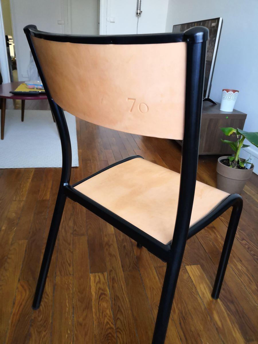 Chaise D École Mullca chaise d'école réédition mullca – luckyfind