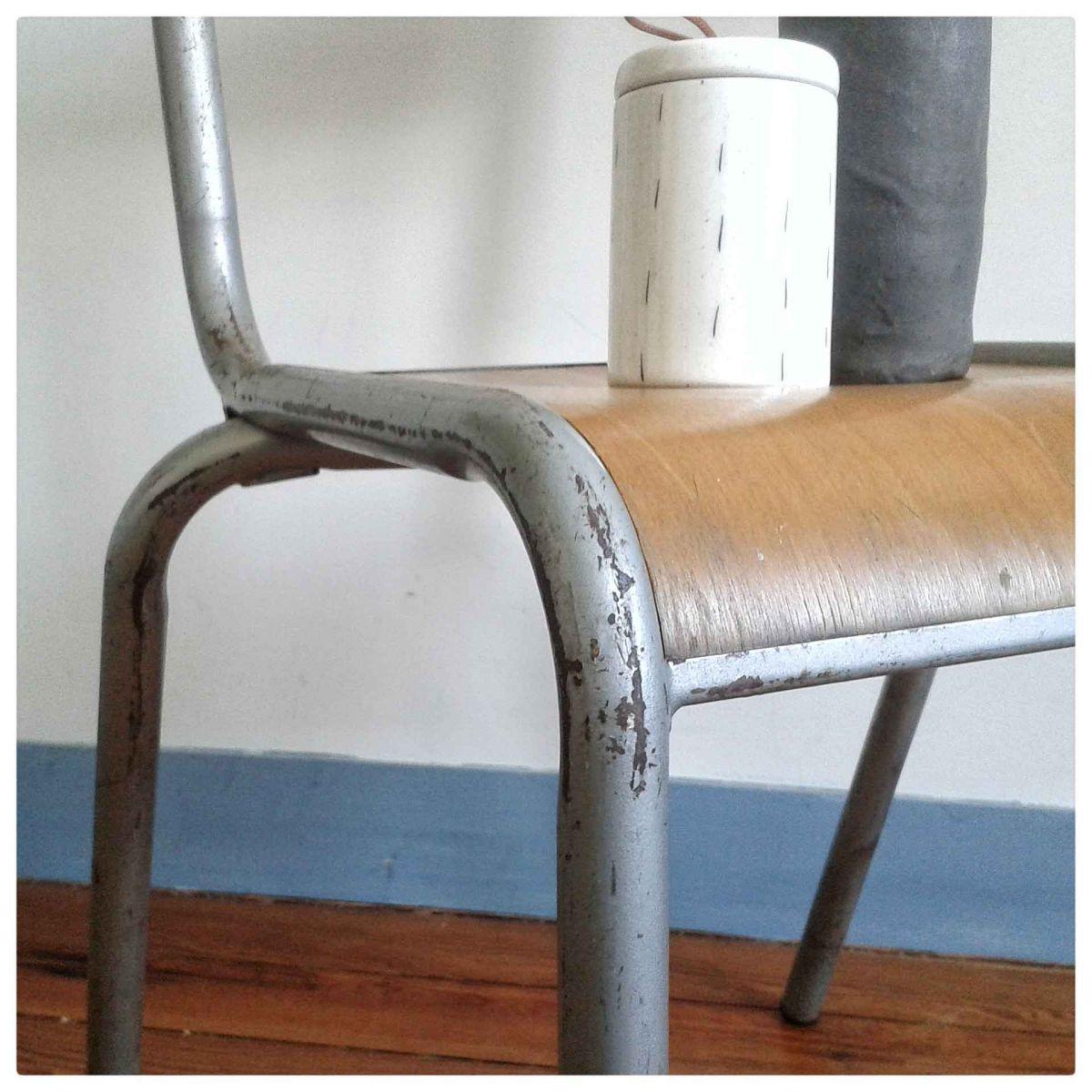 chaise d 39 cole mullca 510 luckyfind. Black Bedroom Furniture Sets. Home Design Ideas