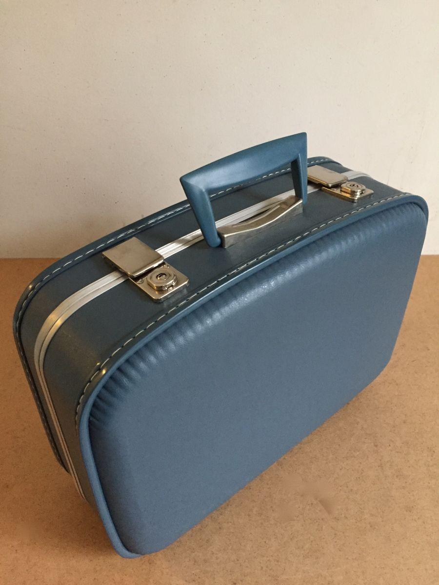 valise h tesse de l 39 air air france 1960 luckyfind. Black Bedroom Furniture Sets. Home Design Ideas
