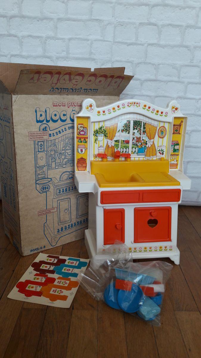 cuisini re jouet vintage berchet luckyfind. Black Bedroom Furniture Sets. Home Design Ideas