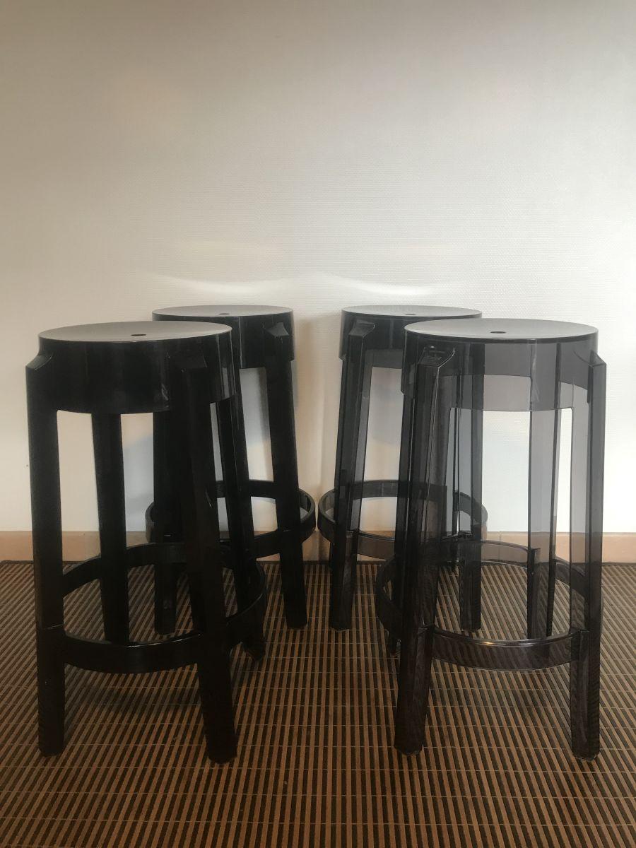 tabourets bar design kartell et starck luckyfind. Black Bedroom Furniture Sets. Home Design Ideas