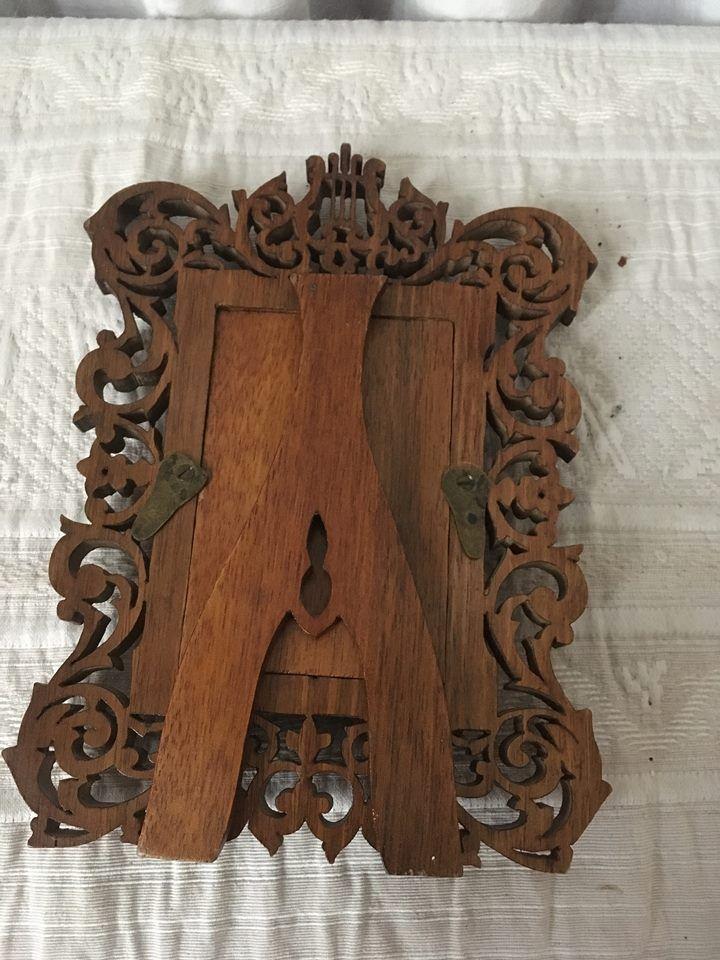 cadre lyre en bois ou porte photo luckyfind. Black Bedroom Furniture Sets. Home Design Ideas