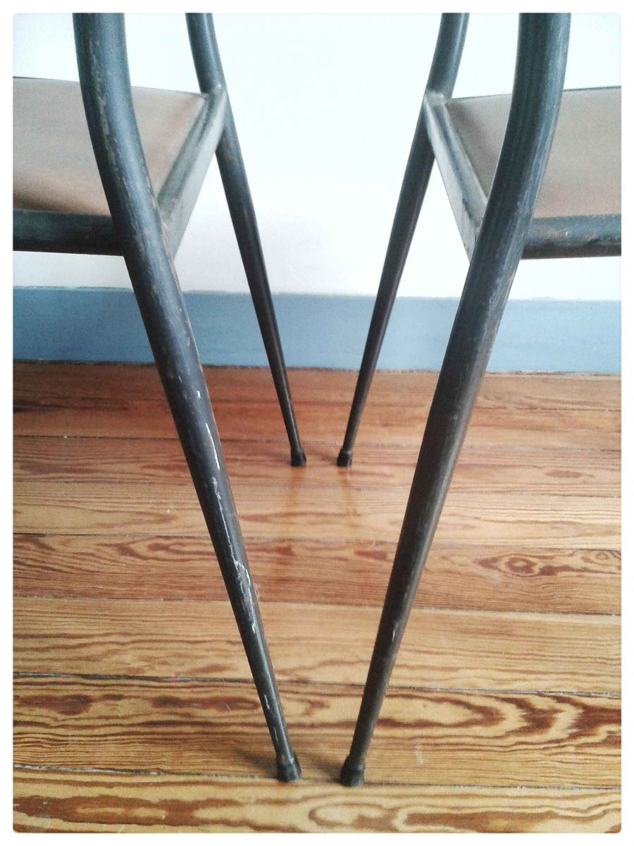 Chaise D École Mullca paire de chaises d'école mullca – luckyfind