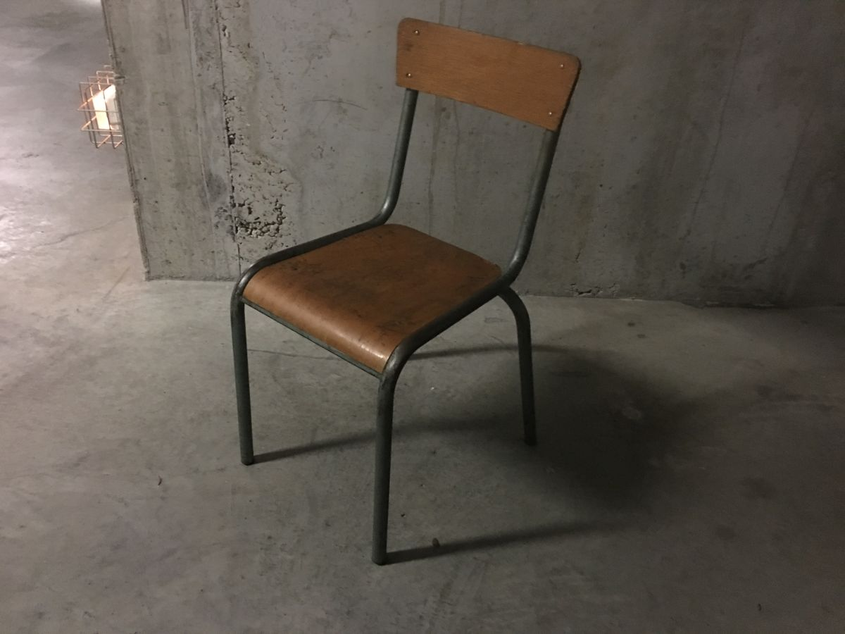 Chaise D École Mullca chaise d'école mullca