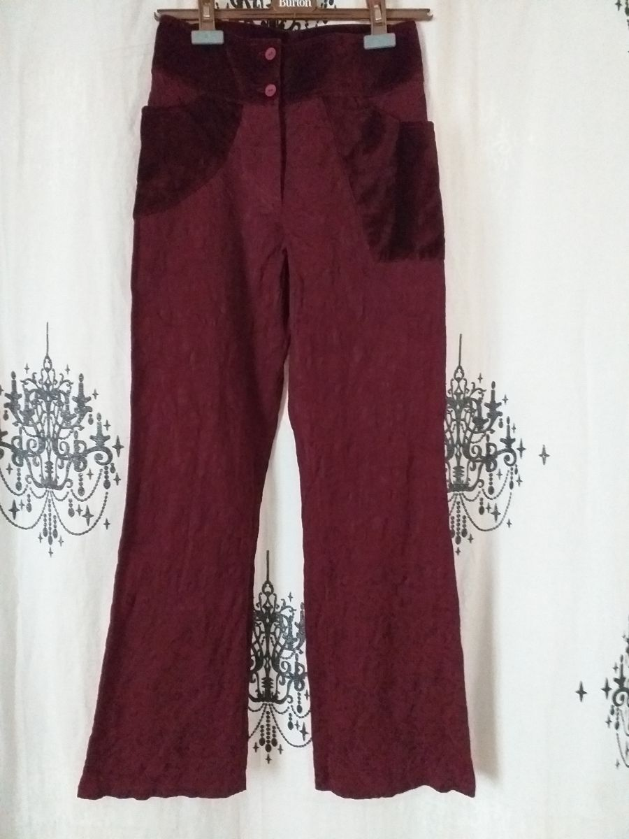 Ensemble veste velours et pantalon
