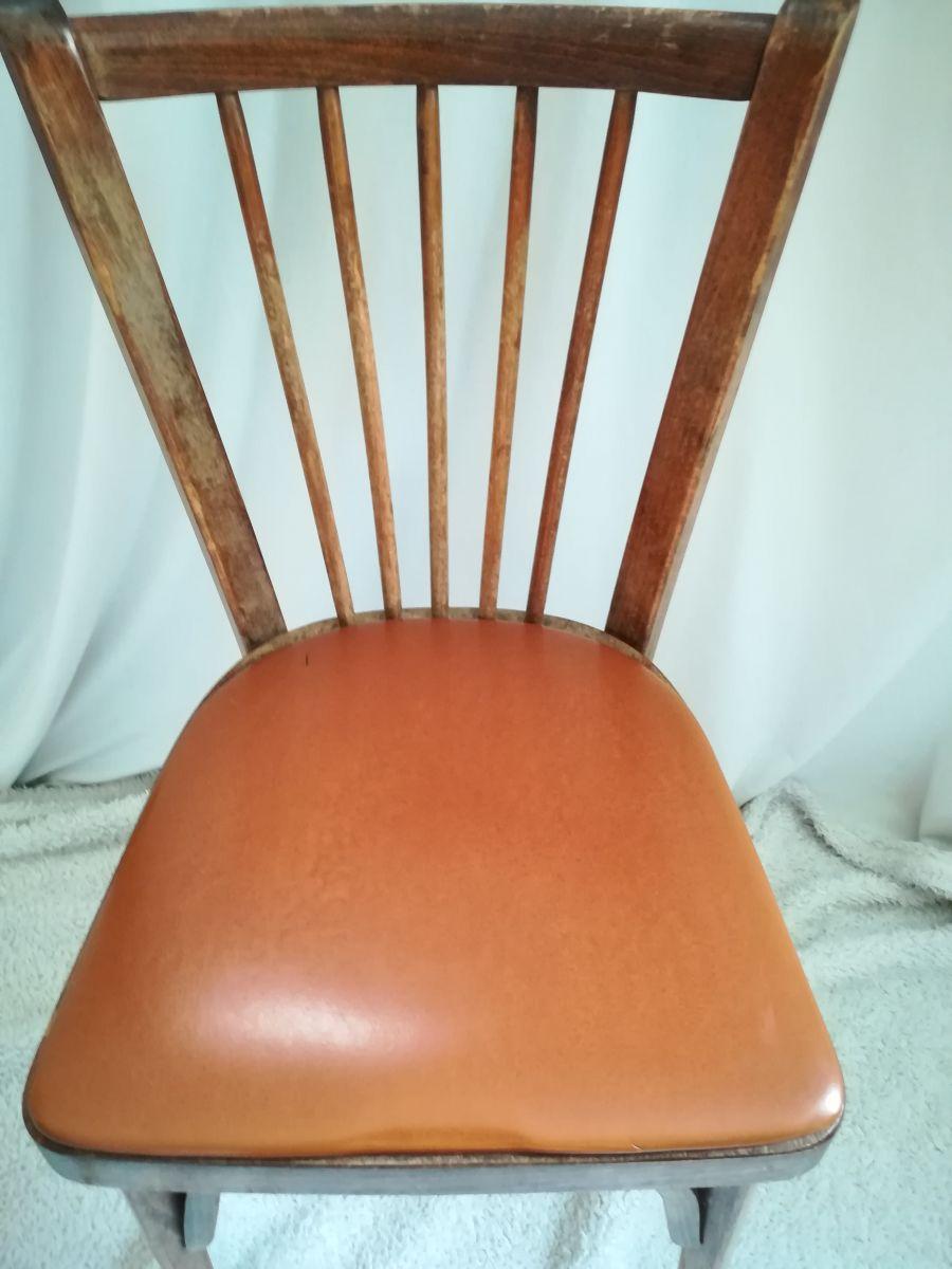 chaise baumann bistrot skai marron chocolat – Luckyfind