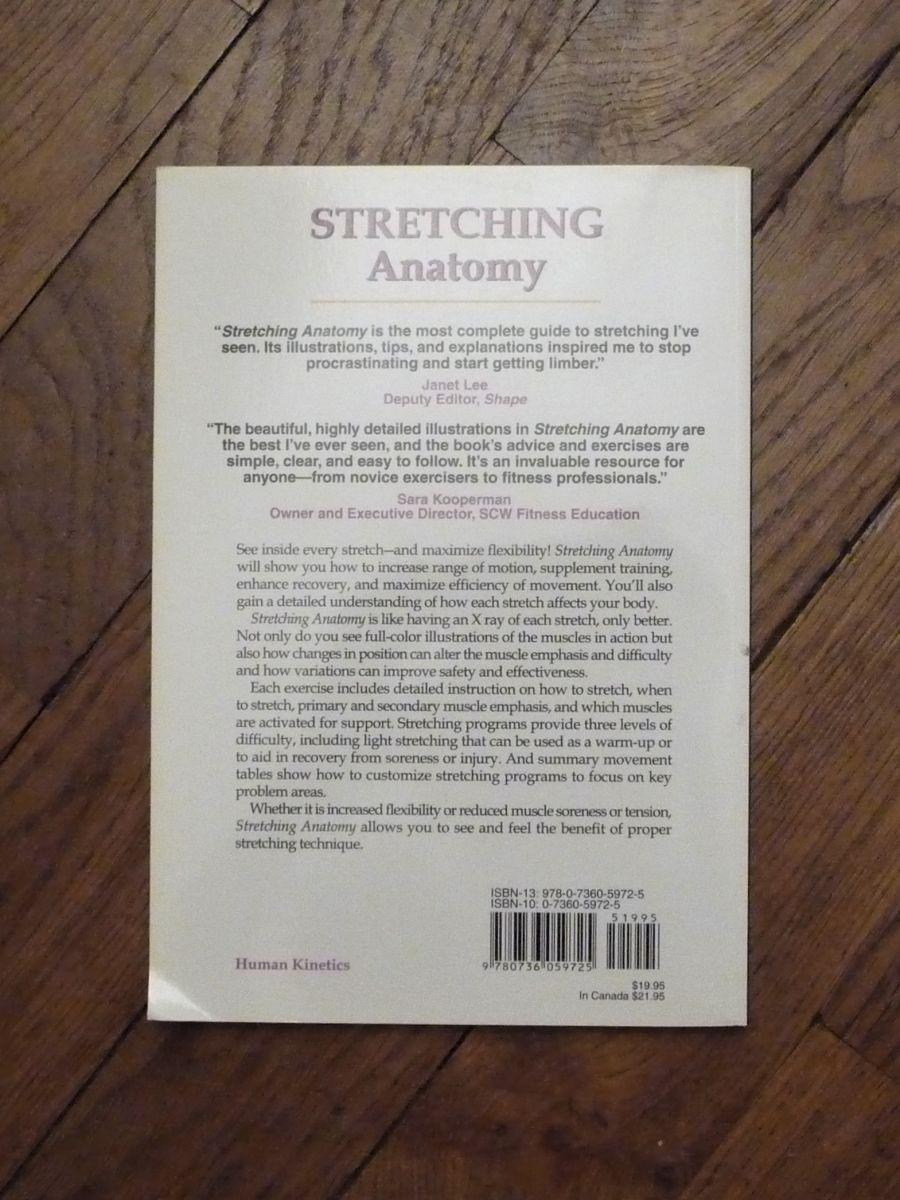 Stretching Anatomy - Arnold G Nelson- Jouko Kokkonnen ...