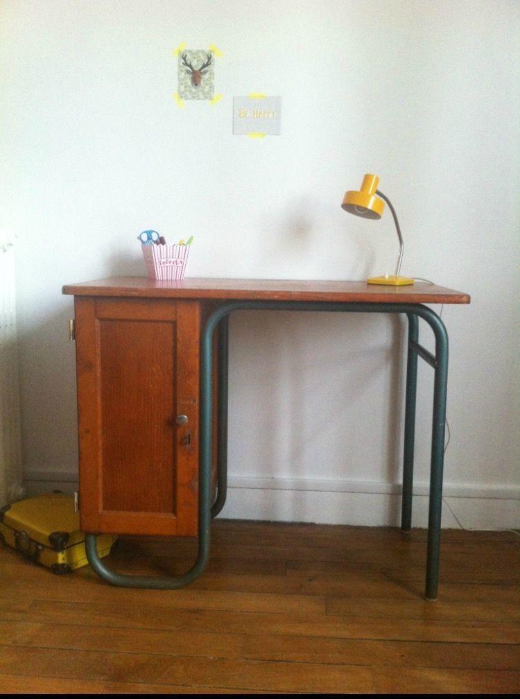 bureau d 39 occasion ou vintage pas cher entre particuliers luckyfind. Black Bedroom Furniture Sets. Home Design Ideas