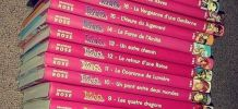 Collection livres WITCH