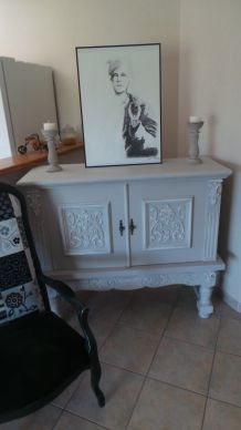 buffet r tro luckyfind. Black Bedroom Furniture Sets. Home Design Ideas