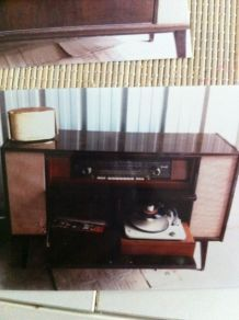 Tourne disque luckyfind - Meuble radio tourne disque ...