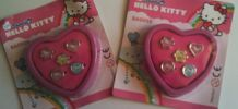 Lot de 5 bagues hello kitty