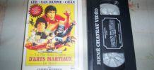 K7 VIDEO les plus beaux combats bruce lee van damme etc ..