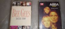2 K7 ABBA ET BEE GEES