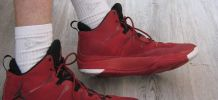 Jordan's superfly 3 rouge