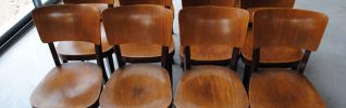 3 Chaises Thonet bistrot