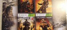 Jeux Gears of War 1 2 3 judgment Xbox 360